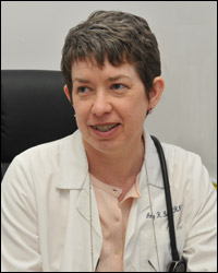 related physician Amy Barlow